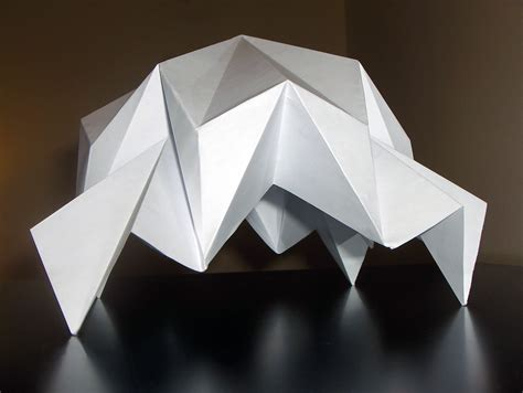 folded origami 3 dimensional origami folded structures by tewfik tewfik