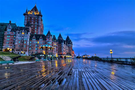 2 Ch 226 Teau Frontenac Hd Wallpapers Backgrounds