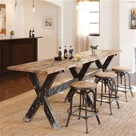 bar style dining room tables pub bar tables and stools on