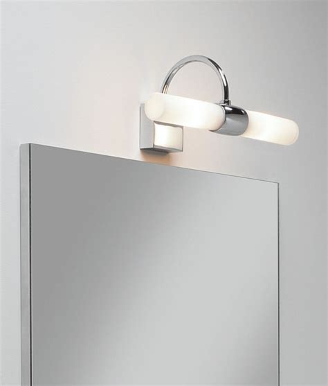 above mirror lighting bathrooms bathroom wall light polished chrome