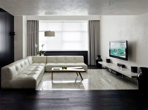 minimalist apartments advertisement