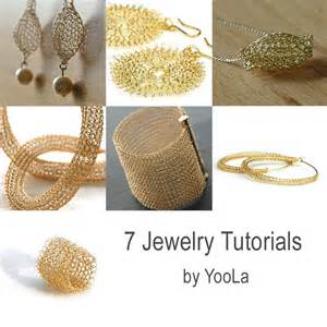 jewelry tutorial 7 pdf jewelry tutorials wire crochet patterns yoola
