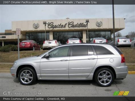 2007 Chrysler Pacifica Limited by Bright Silver Metallic 2007 Chrysler Pacifica Limited