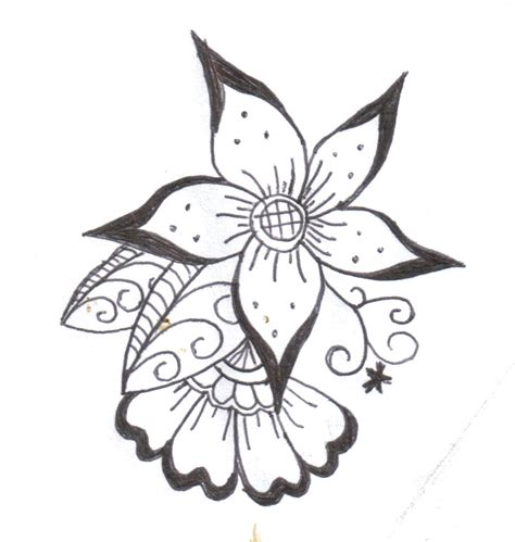 easy designs simple flower designs cliparts co