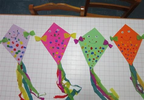 kite crafts for crafts actvities and worksheets for preschool toddler and