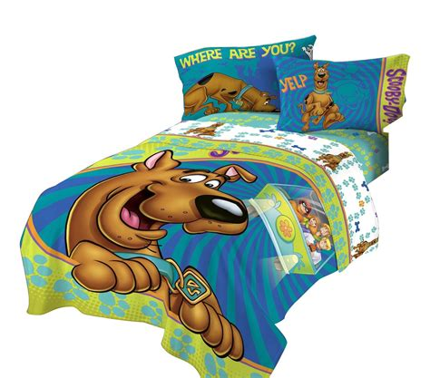 scooby doo bedding sets scooby doo bed comforter smiling scooby bedding