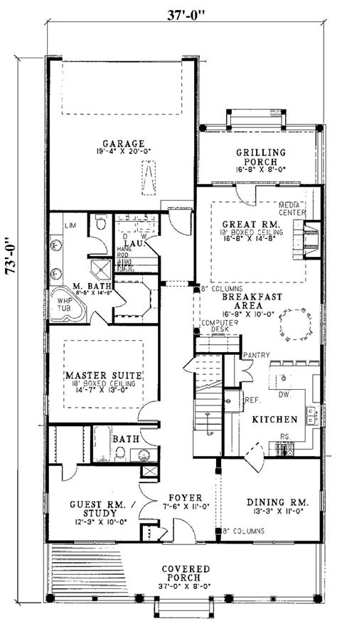 floor plans for narrow lots best 25 narrow lot house plans ideas on narrow house plans retirement house plans