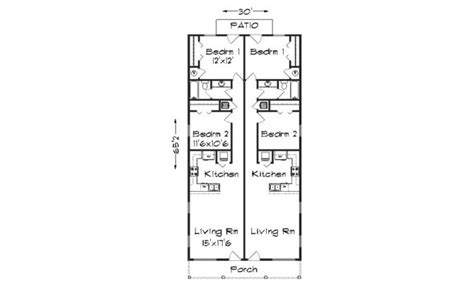 duplex plans for narrow lots 14 narrow lot duplex house plans ideas house plans 21345