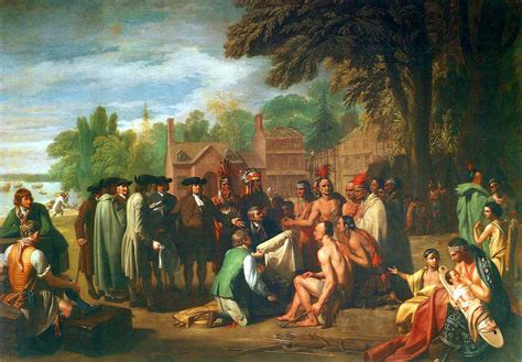 angelus paint india file treaty of penn with indians by benjamin west jpg