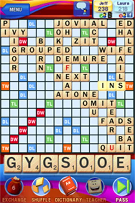 world scrabble rankings scrabble for iphone pcworld