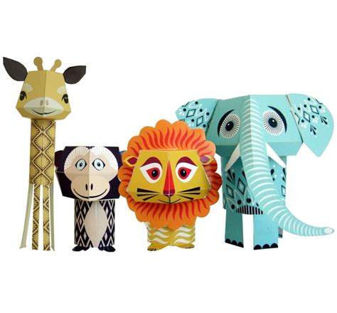 paper craft animals another design paper animals much time on my