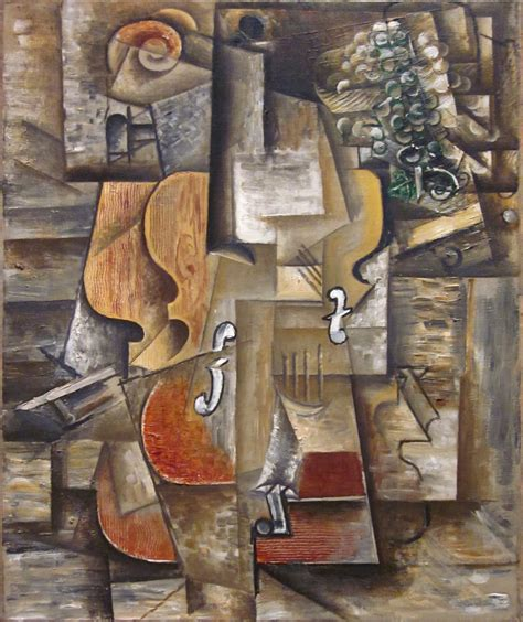 picasso paintings violin file pablo picasso 1912 violin and grapes on canvas