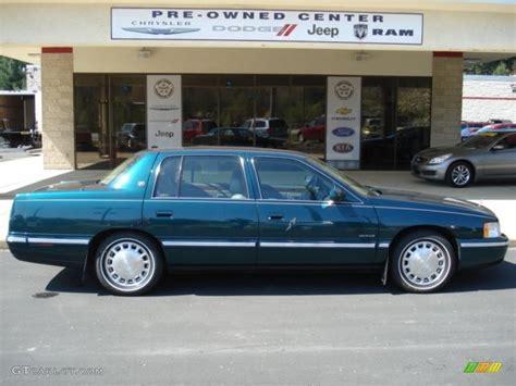 Green Cadillac by 1999 Emerald Green Cadillac Sedan 63100777
