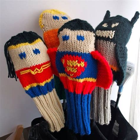 golf covers knit knitted golf club covers lol it s all about me