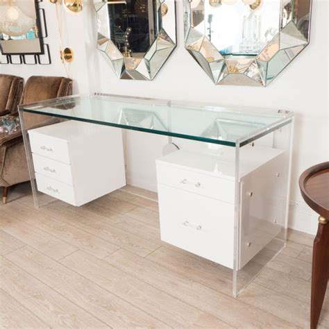 glass office desk best 25 glass desk ideas on glass top desk