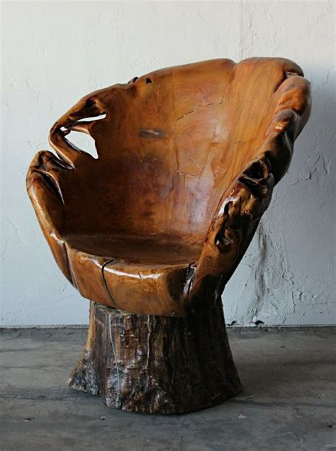 Stump Chair awesome tree stump chair i heart chairs pinterest