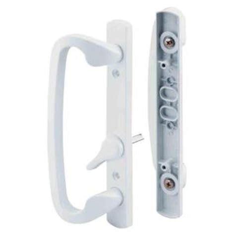 prime line patio door handle set c 1280 the home depot