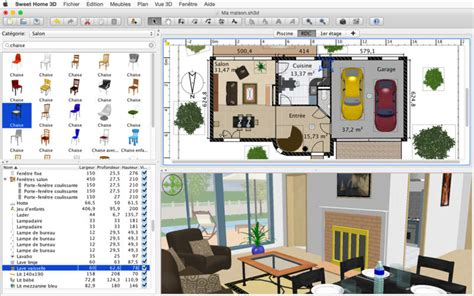 Home Plan Design Software For Mac sweet home 3d dans le mac app store