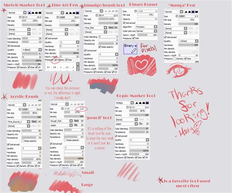 paint tool sai 2015 paint tool sai brushes updated by mintysoup on deviantart