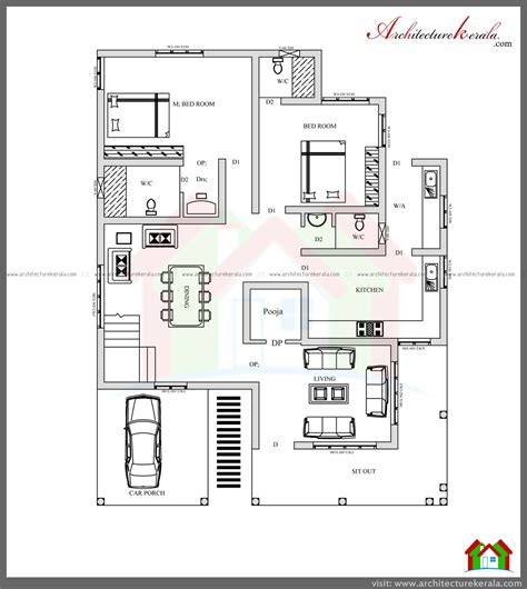 house plans in kerala with 4 bedrooms stunning 4 bedroom kerala home design with pooja room free