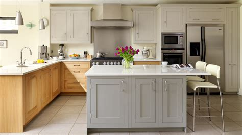 classic painted white shaker kitchen from harvey jones oak painted shaker kitchen from harvey jones