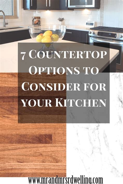 countertop options 25 best ideas about countertop options on