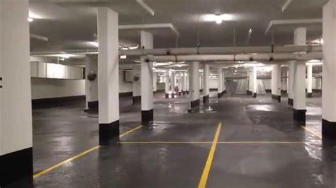 underground parking garage underground parking garage pressure washing