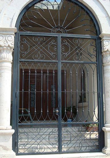 front door iron gates wrought iron entry front door custom metal door exterior