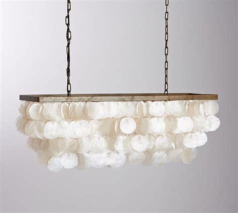 capiz rectangular chandelier style chandeliers