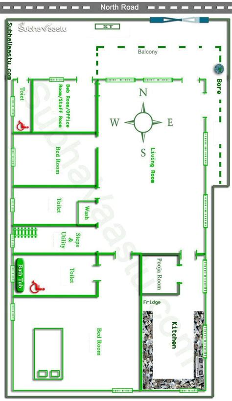 vastu plans for house facing vastu house plan subhavaastu