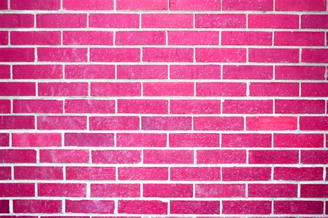 pink brick wall pink brick wall texture picture free photograph