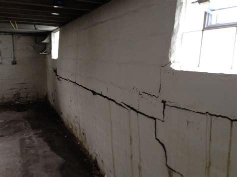 repair basement wall pioneer basement solutionsbasement wall repair methods are