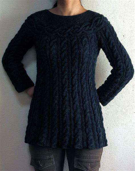 free knitting patterns womens jumpers kei s cable luxe tunic free pattern knitted