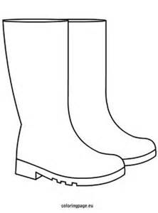 rubber st template free the boot kidz outline of wellington boot stencil for
