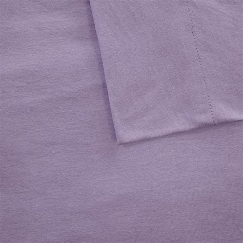jersey knit sheets intelligent design cotton blend jersey knit sheet set ebay