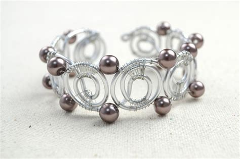 how to make a bracelet with and wire wire bracelet designs how to diy bangle bracelets in