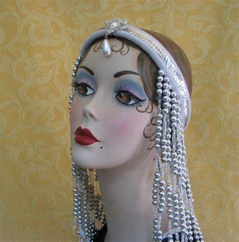 beaded flapper headpiece 17 best ideas about 1920s headband on 1920s