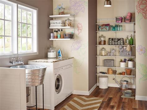 laundry room storage 10 clever storage ideas for your tiny laundry room hgtv