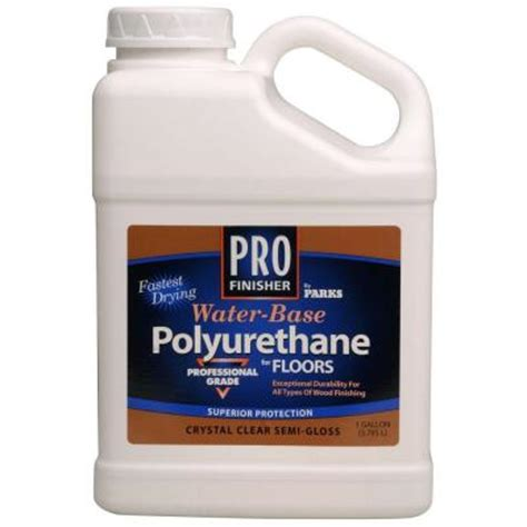 home depot urethane paint rust oleum parks 1 gal clear satin water based