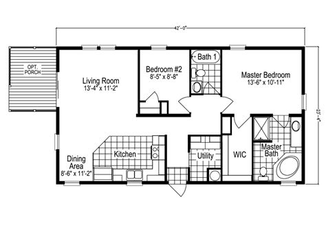palm harbor mobile home floor plans the sl2506e manufactured home floor plan or