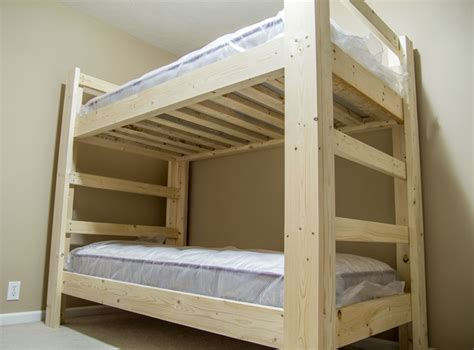 home built bunk beds build a bunk bed jays custom creations