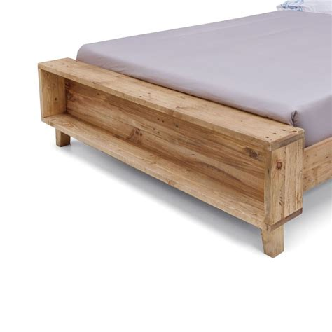 timber bed frame portland rustic recycled timber bed frame buy