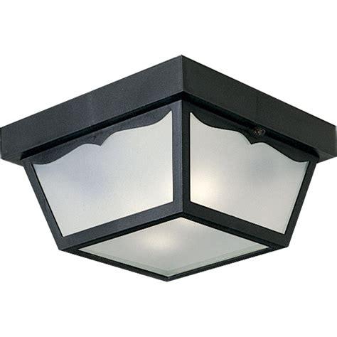 ceiling outdoor lighting progress lighting p5745 31 outdoor flush mount ceiling fixture