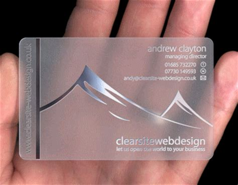 how to make plastic cards plastic business cards make your business card stand out