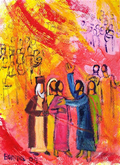 l esprit d 233 ploie ses ailes dans le silence hom 233 lie pentec 244 te 233 e b praedicatho