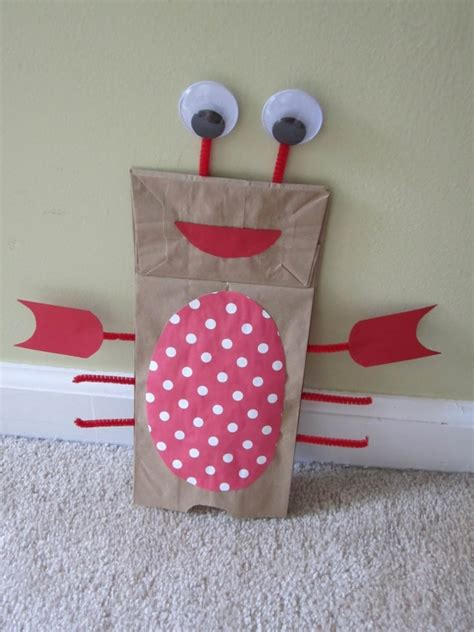 brown paper bag crafts for preschoolers 25 best ideas about lobster crafts on crab