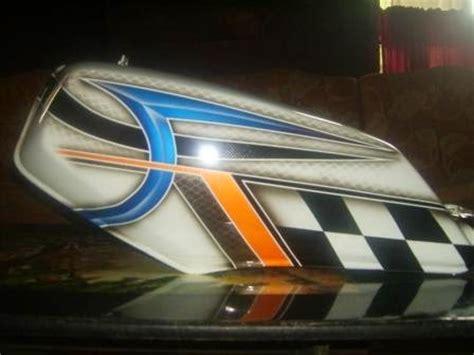 Modifikasi Tangki Rx King Airbrush 2013 by Modifikasi Rx King Airbrush Putih Mutiara Motor Expose