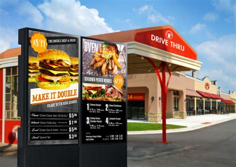 outdoor displays reading the signs tips for choosing the right outdoor