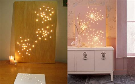 Lights For Home Decoration 20 einfache handgemachte wand kunst ideen
