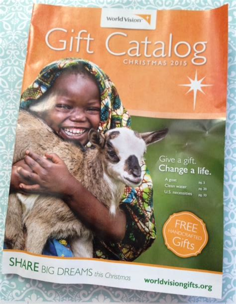 world vision gift catalogue buy gifts that give back to those in need world